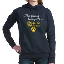 This Human Belongs To A Dogue de Bordeaux Hooded S