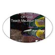 Teach Me Your Paths Decal