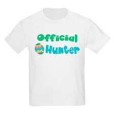 Official Egg Hunter! Boys/Gir T-Shirt
