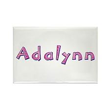 Adalynn Pink Giraffe Rectangle Magnet