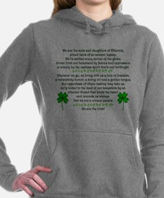 We Are The Irish Hooded Sweatshirt