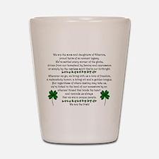 We Are the Irish Shot Glass