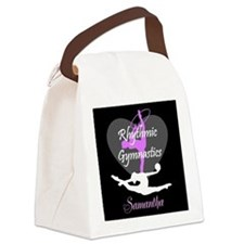Rhythmic Gymnastics Canvas Lunch Bag