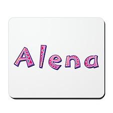 Alena Pink Giraffe Mousepad