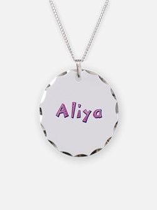 Aliya Pink Giraffe Necklace