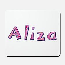 Aliza Pink Giraffe Mousepad