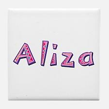 Aliza Pink Giraffe Tile Coaster