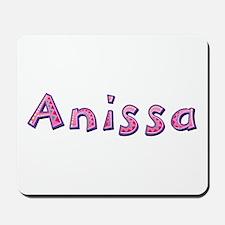 Anissa Pink Giraffe Mousepad