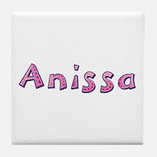 Anissa Pink Giraffe Tile Coaster
