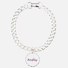 Ansley Pink Giraffe Bracelet