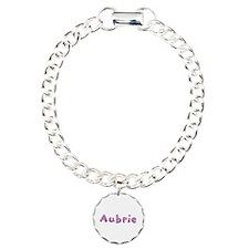 Aubrie Pink Giraffe Bracelet