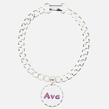 Ava Pink Giraffe Bracelet