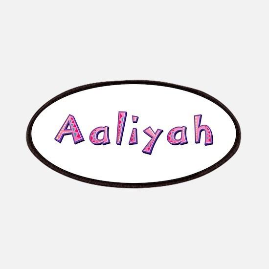 Aaliyah Pink Giraffe Patch