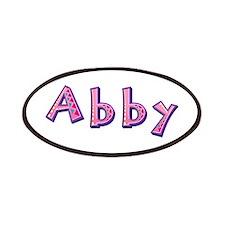 Abby Pink Giraffe Patch