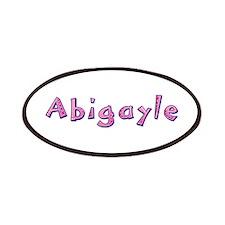 Abigayle Pink Giraffe Patch