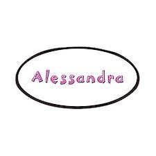 Alessandra Pink Giraffe Patch