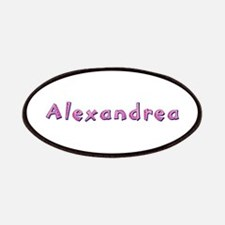 Alexandrea Pink Giraffe Patch