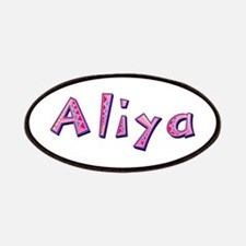 Aliya Pink Giraffe Patch