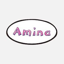 Amina Pink Giraffe Patch