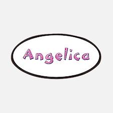Angelica Pink Giraffe Patch