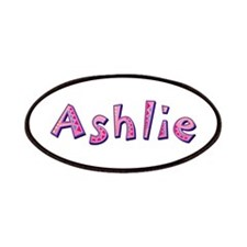 Ashlie Pink Giraffe Patch