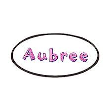 Aubree Pink Giraffe Patch