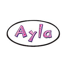 Ayla Pink Giraffe Patch