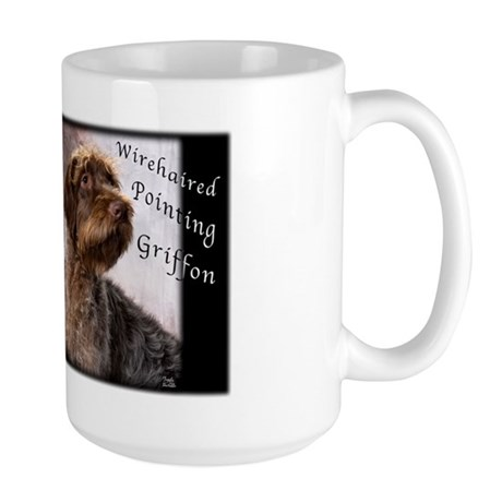 Wirehaired Pointing Griffon Large Mug