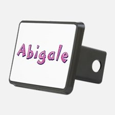 Abigale Pink Giraffe Hitch Cover
