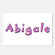 Abigale Pink Giraffe Postcards 8 Pack