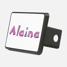 Alaina Pink Giraffe Hitch Cover