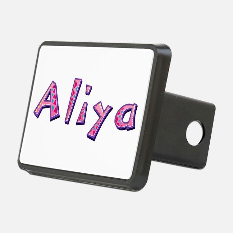 Aliya Pink Giraffe Hitch Cover