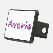 Averie Pink Giraffe Hitch Cover