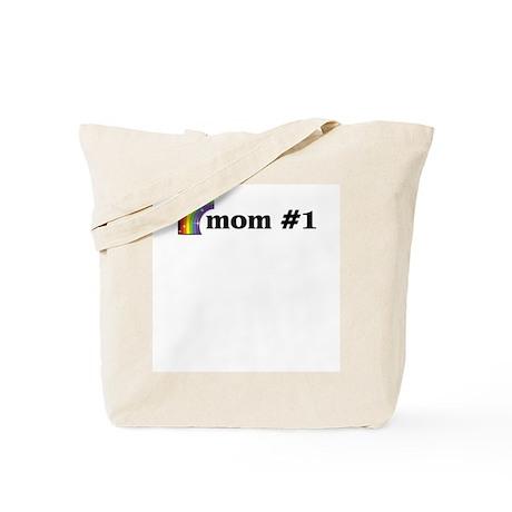 Mom #1 Tote Bag