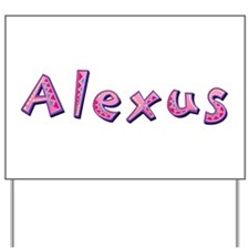 Alexus Pink Giraffe Yard Sign
