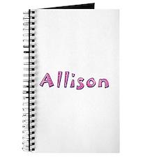 Allison Pink Giraffe Journal