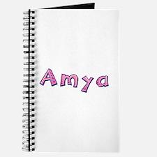 Amya Pink Giraffe Journal