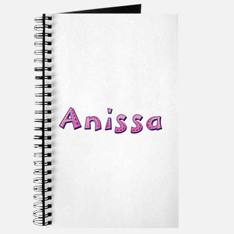 Anissa Pink Giraffe Journal