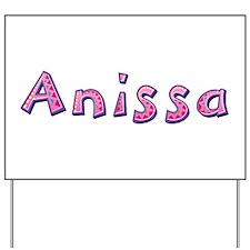 Anissa Pink Giraffe Yard Sign