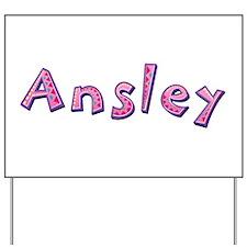 Ansley Pink Giraffe Yard Sign