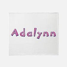 Adalynn Pink Giraffe Throw Blanket