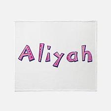 Aliyah Pink Giraffe Throw Blanket