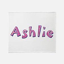 Ashlie Pink Giraffe Throw Blanket