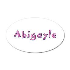 Abigayle Pink Giraffe Wall Decal