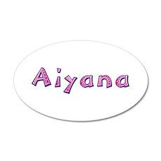Aiyana Pink Giraffe Wall Decal