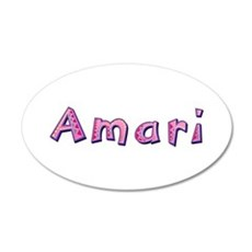 Amari Pink Giraffe Wall Decal