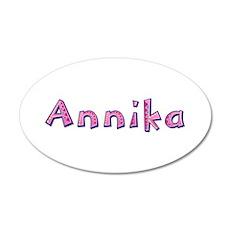 Annika Pink Giraffe Wall Decal