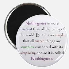 kabbalah Ayin Nothingness Quote Magnet
