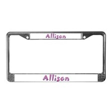 Allison Pink Giraffe License Plate Frame