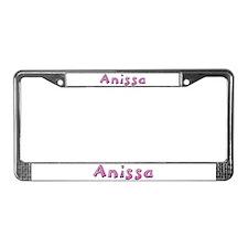 Anissa Pink Giraffe License Plate Frame
